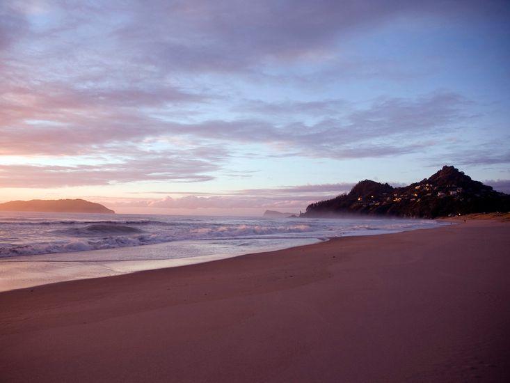 Beautiful Tairua Beach (Not taken from property)