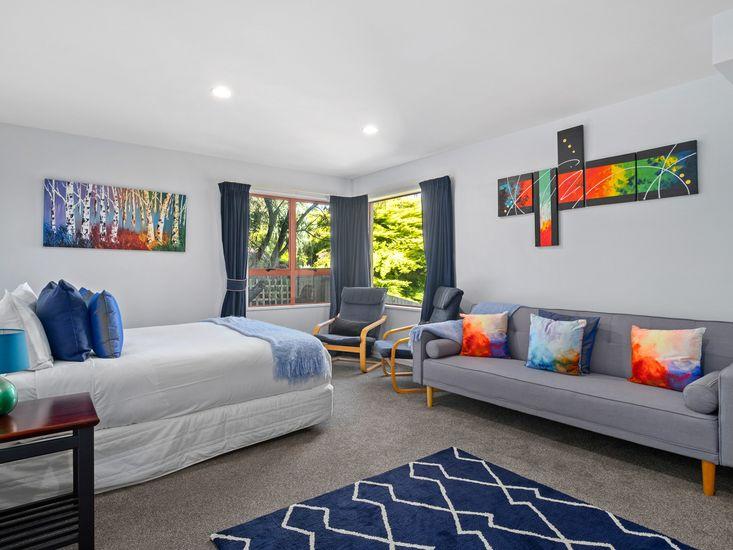 Downstairs third bedroom