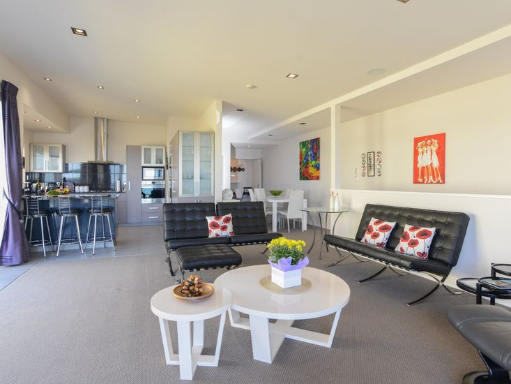 Open Plan Living Room Upstairs