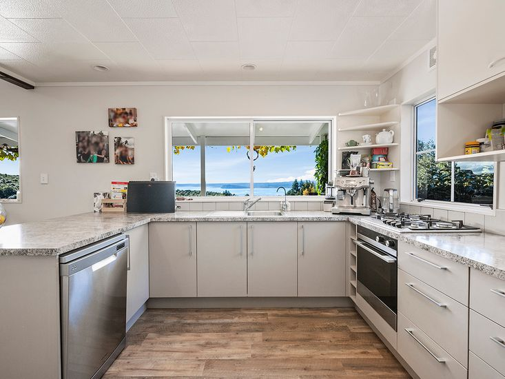 Kitchen - with a view