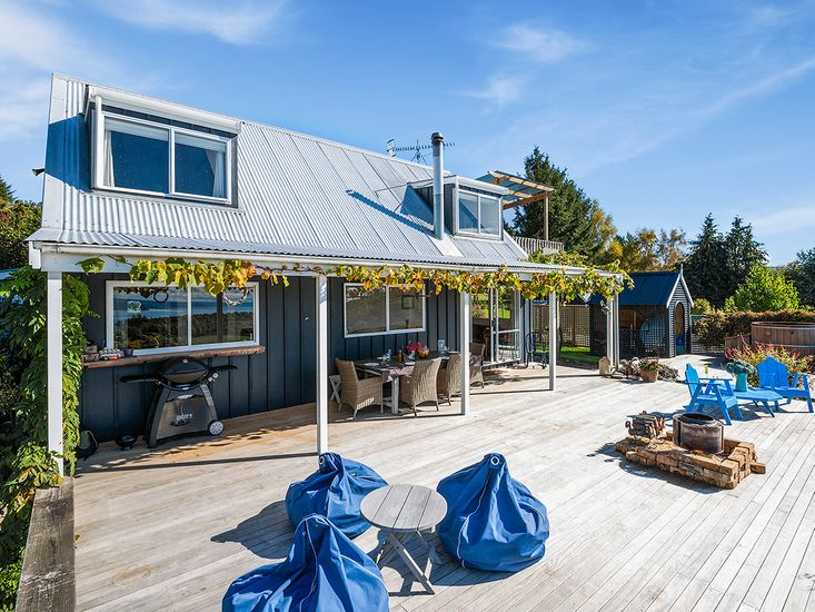 Large sundeck perfect for outdoor living and dining