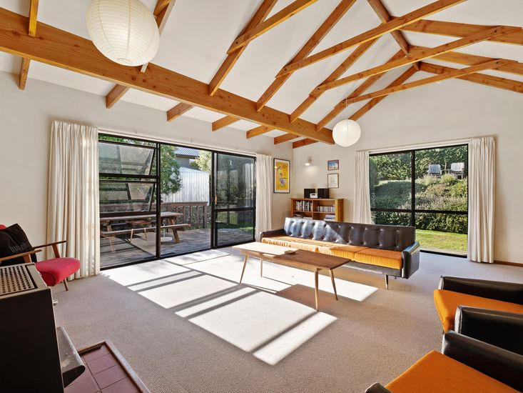 Lounge room opens out to the sundeck