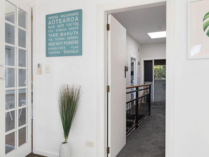Living area onto hallway/landing