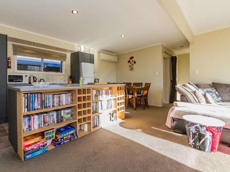 Plenty of board games and books!