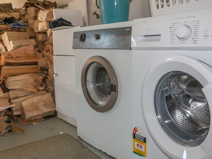 Laundry and Firewood