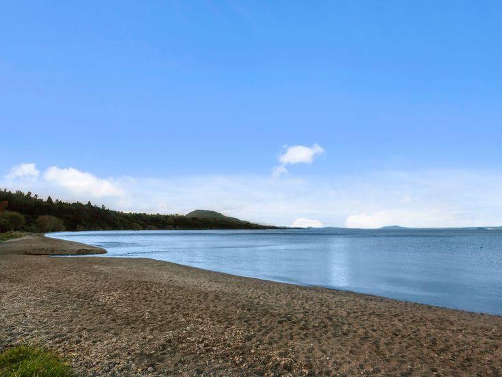 Stroll along the lake's edge
