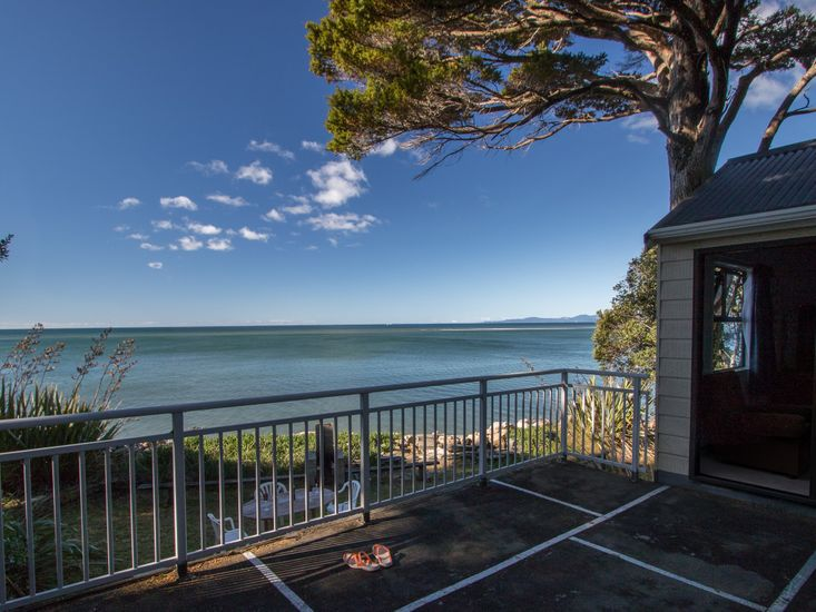 Views of the water from the decking