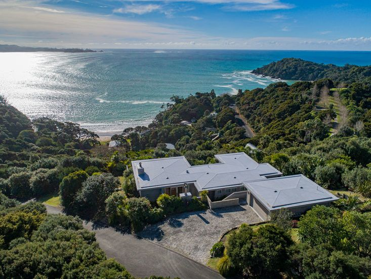 Aerial View of Matapouri Views Forever