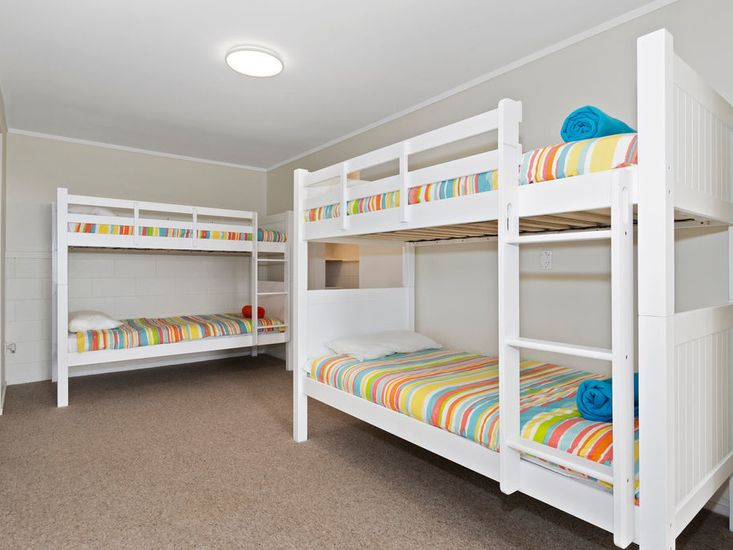 Bedroom Three - 2x Single Bunks
