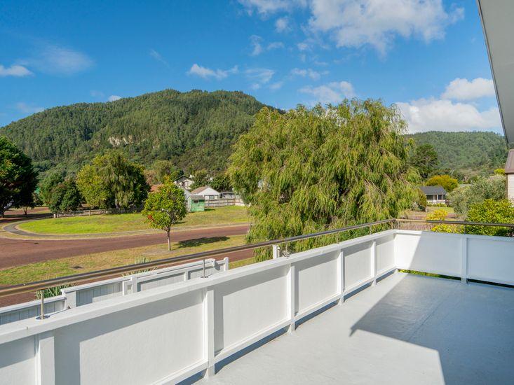 Master bedroom balcony - views over local scenery