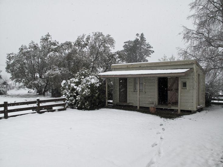 Snowy exterior!