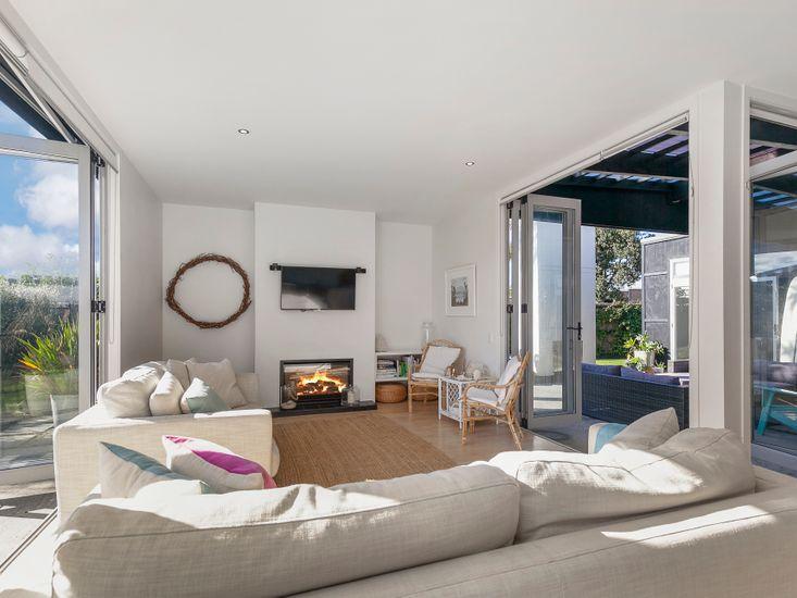 Indoor/outdoor flow for holiday living!