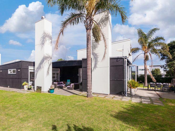 Spacious lawn and garden for outdoor living