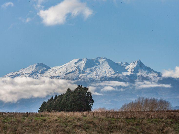 Views of Mt Ruapehu