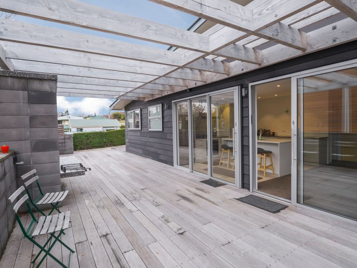 Sundeck - accessed by kitchen