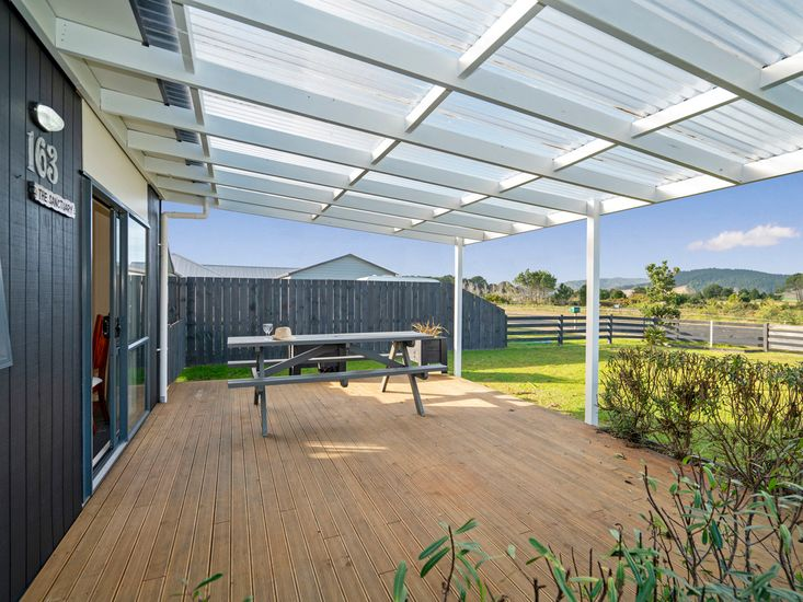 Sheltered outdoor area