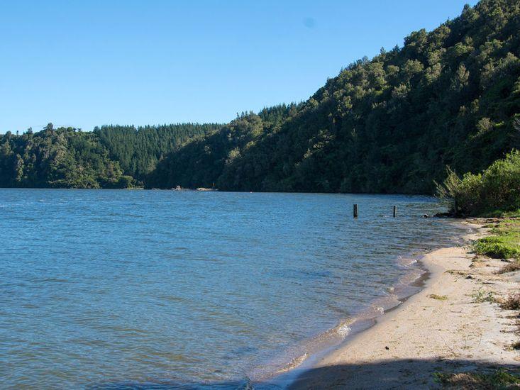 Lake's edge nearby