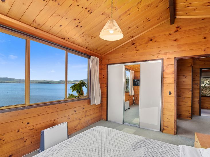 Master bedroom - great views