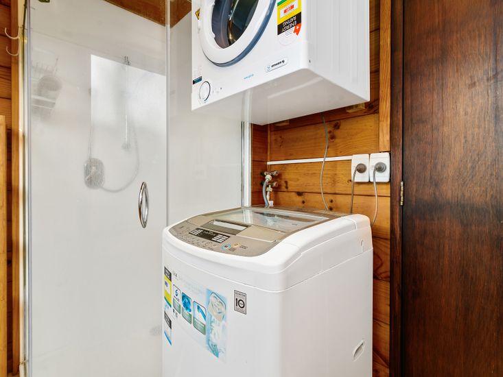 Bathroom 2 and laundry