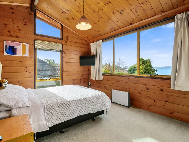 Master bedroom - great views