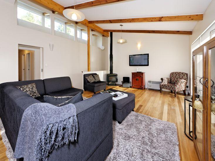 Comfortable lounge area