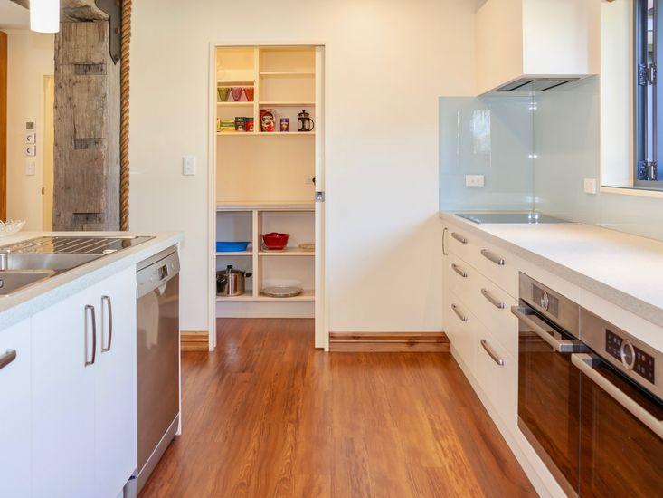 Kitchen into pantry