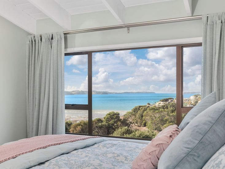 Views from the window of the master bedroom