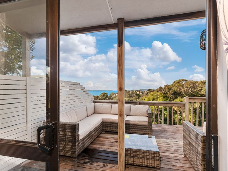 Living areas open out to the sundeck