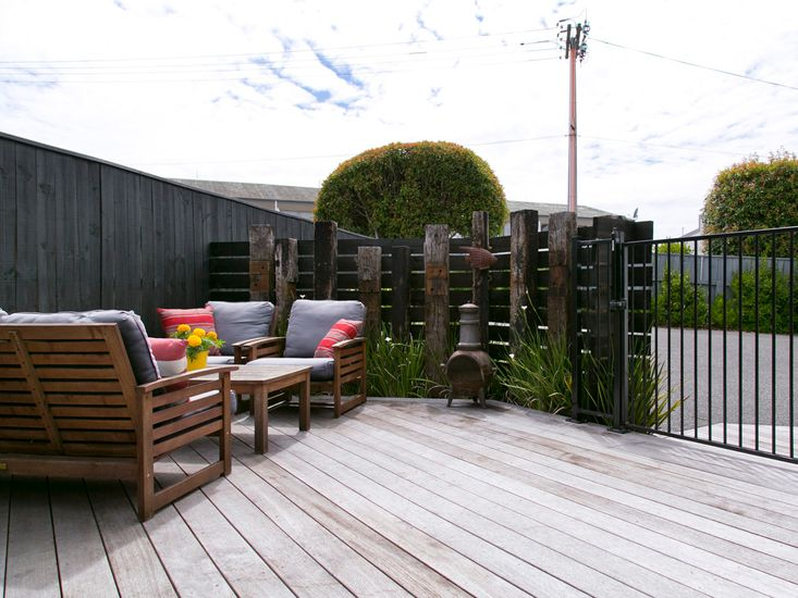 Sundeck for outdoor living