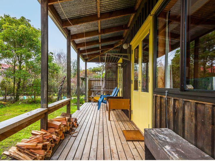 Sheltered verandah