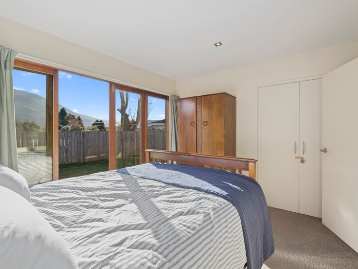 Bedroom 2 - Views and access to sundeck