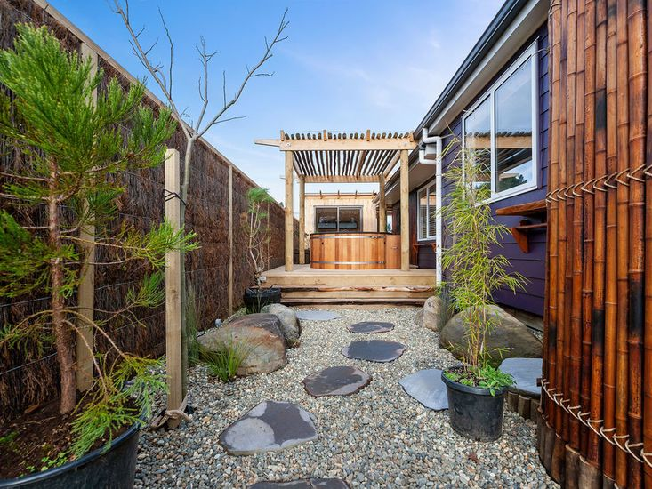 Landscaped garden and outdoor areas