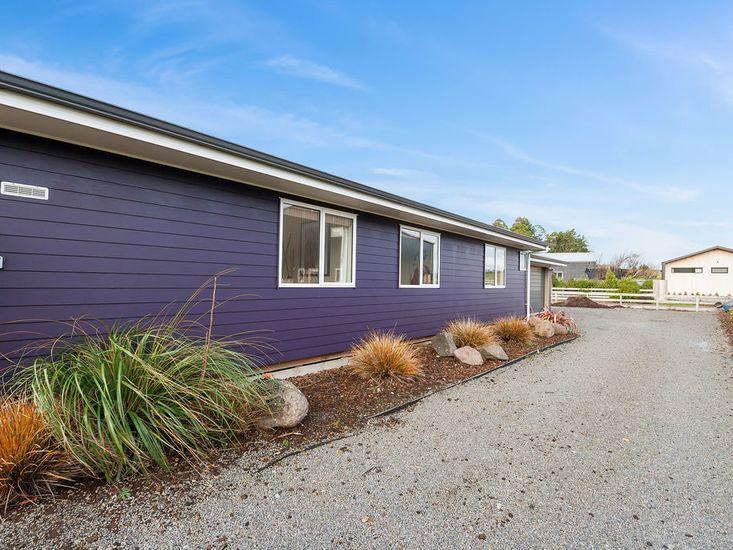 The Purple House!