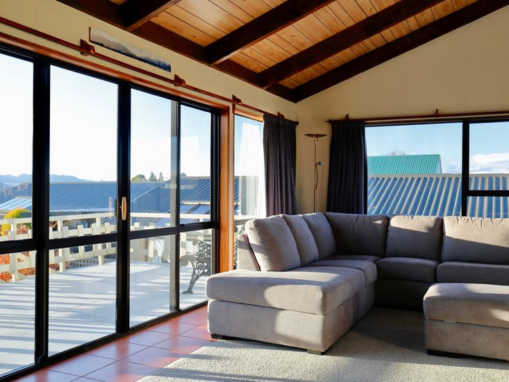 Lounge opens out to the sundeck