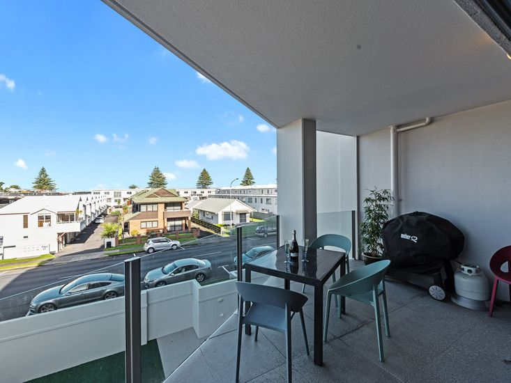Balconyfor outdoor living, dining and BBQ area