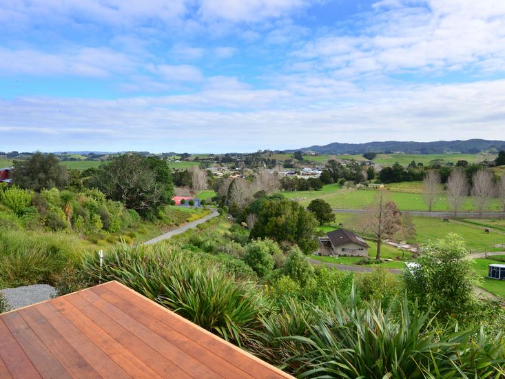 Rural views from the sundeck