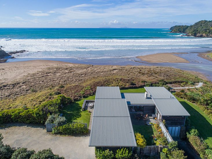 Aerial View of Dal Riata - Sandy Bay Holiday Home