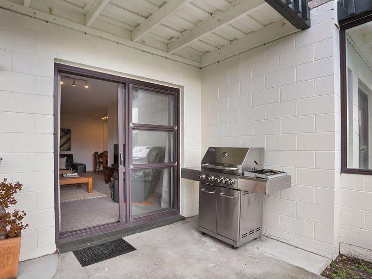 BBQ area access