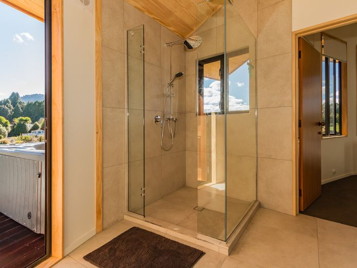 Ensuite to master bedroom - also opens out to the spa pool