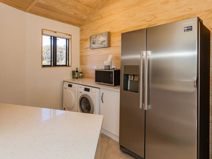 Pantry and laundry facilities