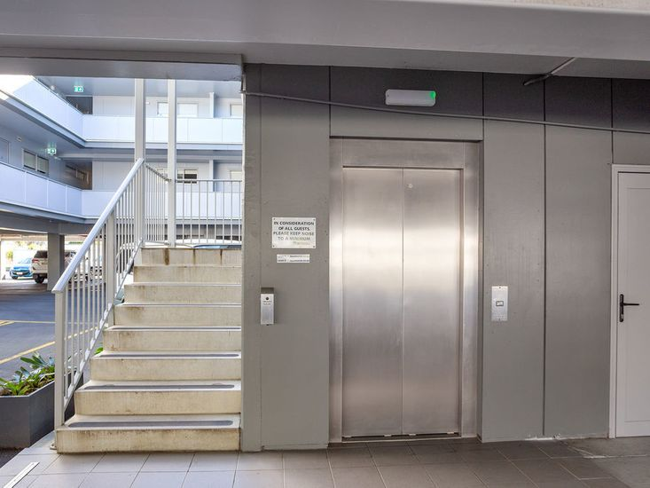 Stair and lift access