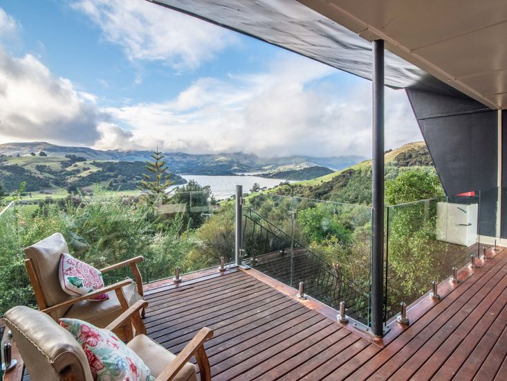 Sheltered decking for outdoor living and BBQs!