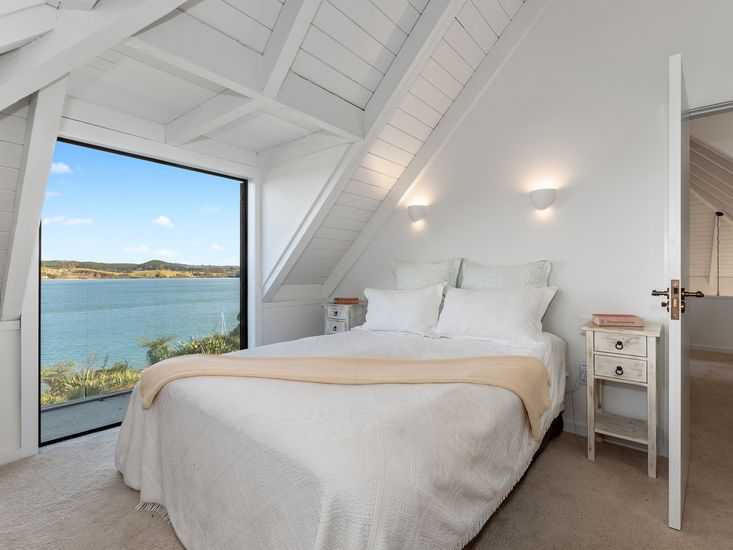 Bedroom 1 - Upstairs with views
