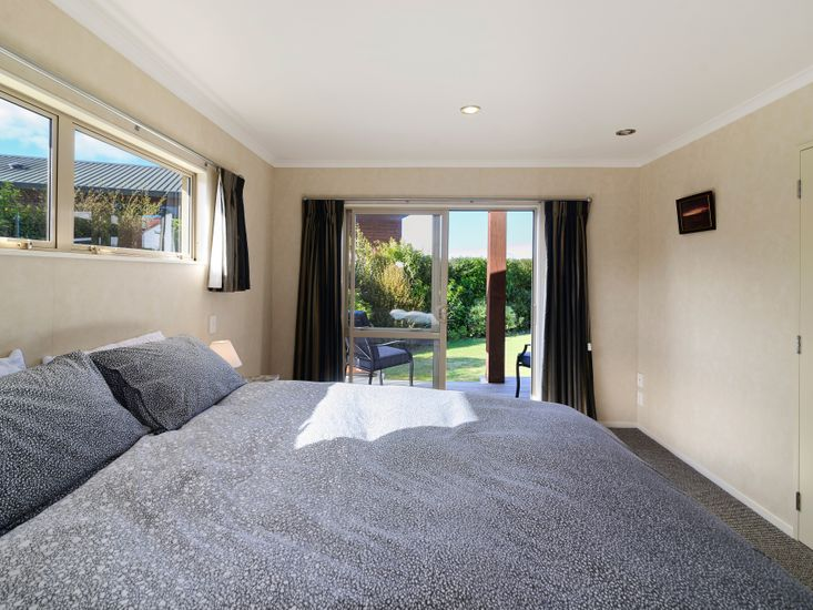 Bedroom 3 - opens out to the garden