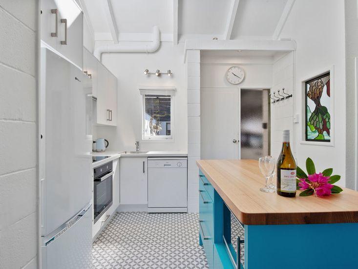 Minimalistic designed kitchen area