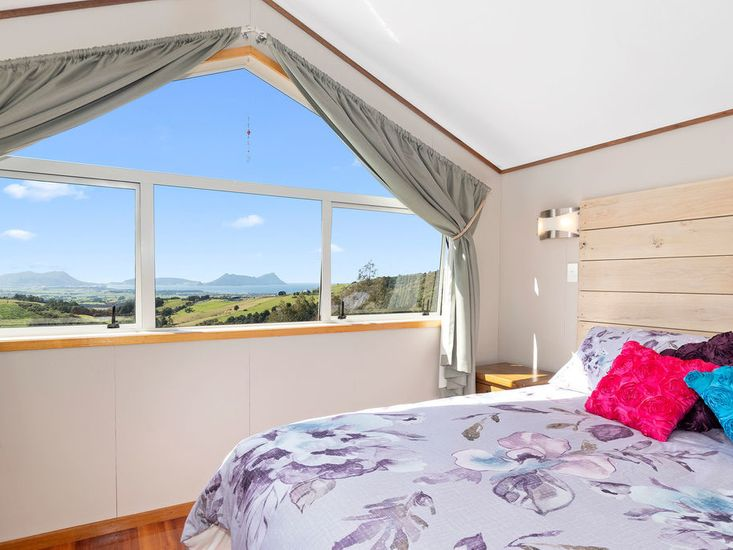 Master bedroom - with stunning views