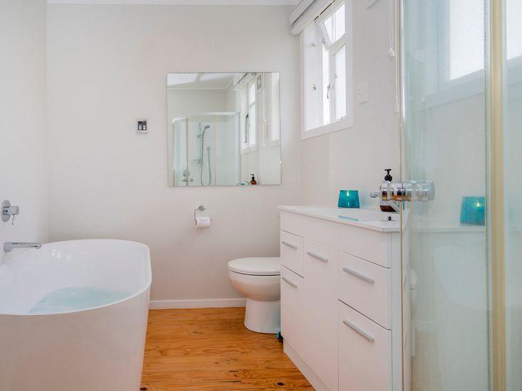 Bathroom one - amenities