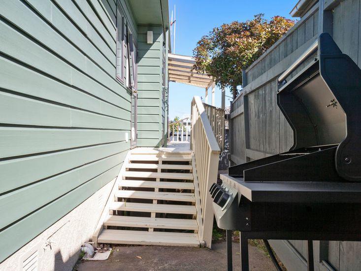 Summer BBQ area