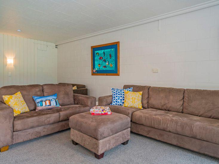 Left-hand unit - Living area