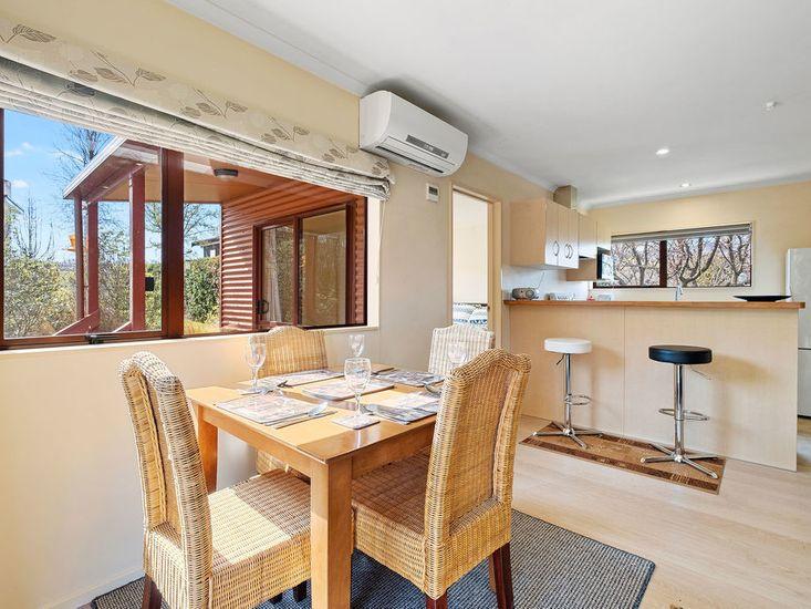 6 - Dining area onto kitchen